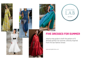 5 dresses for summer - pdf pattern guide